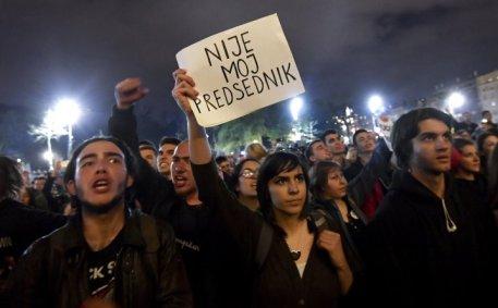 proteste_non è il mio presidente
