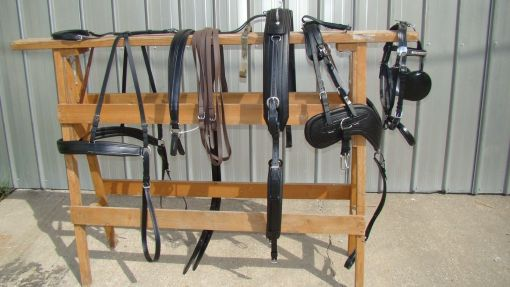 comfy fit draft horse harness