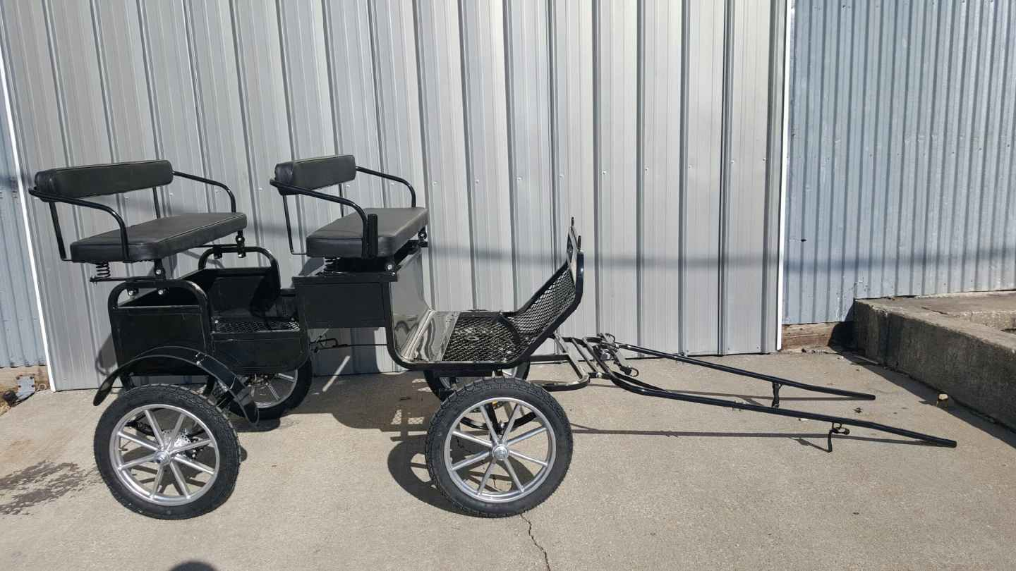 Frontier Mini Pony size lightweight trail buggy pleasure carriage