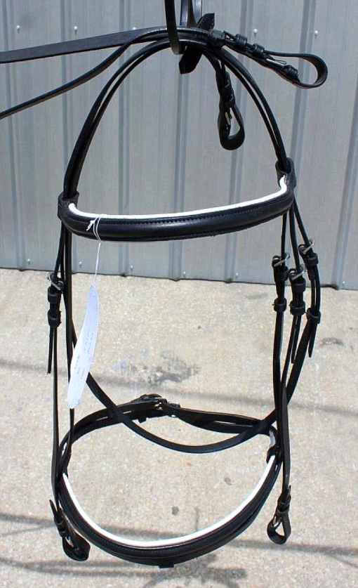 qh english bridle rubber reins