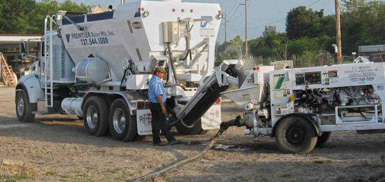 Concrete Pumping Service