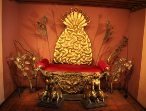 Historic throne, Patan Museum