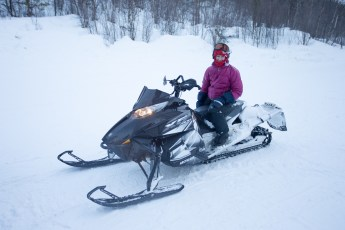 Snowmobiling!