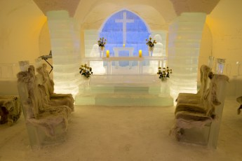 Wedding Chapel - Sorrisniva Ice Hotel