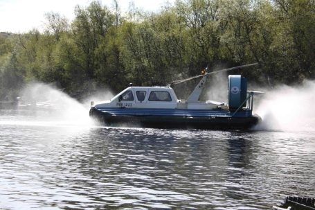 Travel to remote beats in the comfort of hovercraft