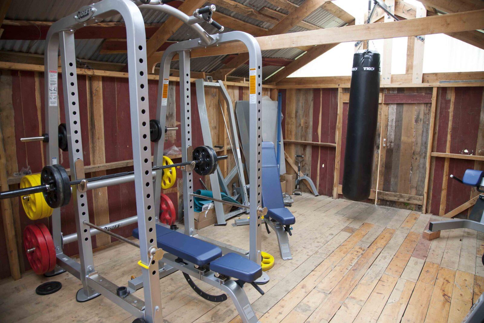 The new gym at Ryabaga