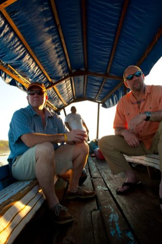 Central America saltwater exploratory trip with Mike Fitzgerald, 2009