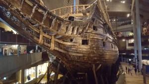 Il galeone Vasa ripescato dopo ben 300 anni negli abissi