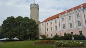 Nel parco esterno del castello