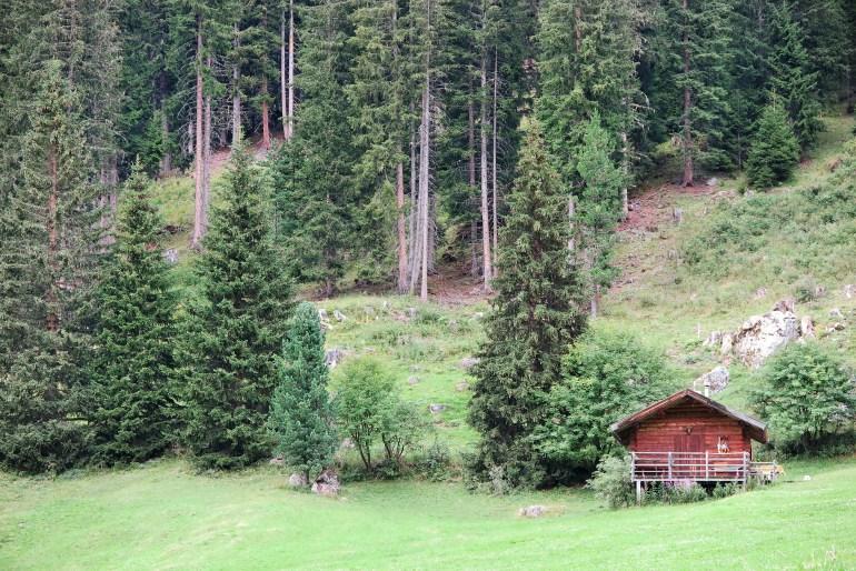 cabin nelle dolomiti