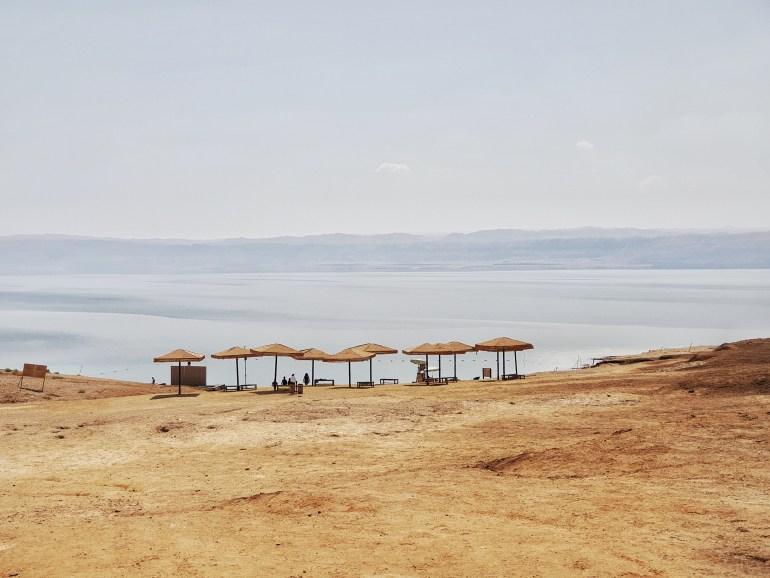 mar morto spiagge