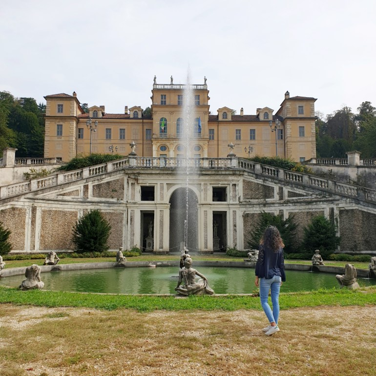 visita a villa della regina