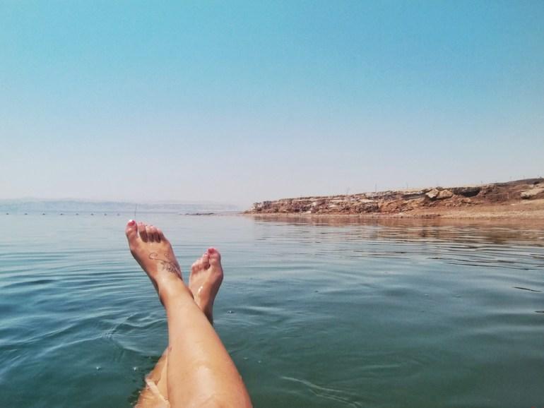nuotare mar morto