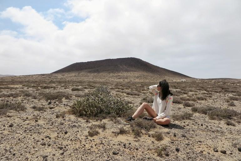 vulcano caleta de famara