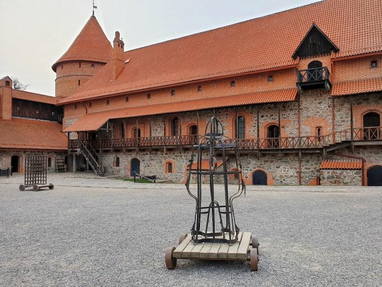 castello dell'isola lituania