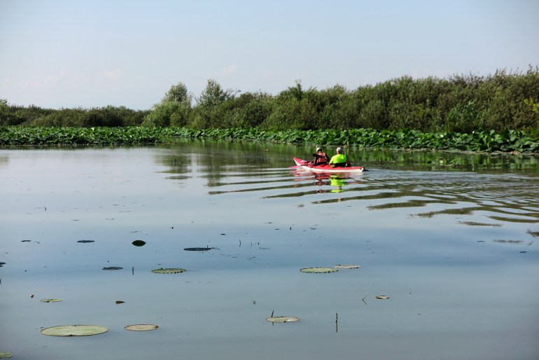 canoa sul mincio