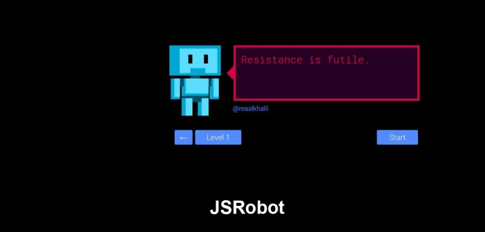 JSRobot: Javascript learning game elements in the browser
