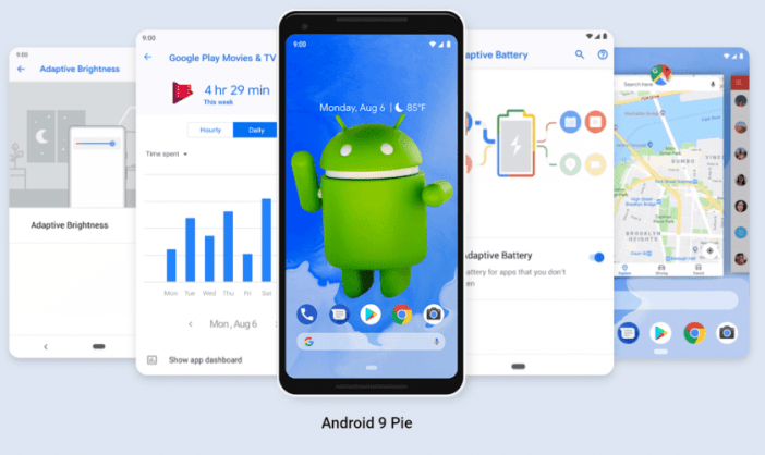 Android 9 0 Pie: These smartphones get the update - FrontNet