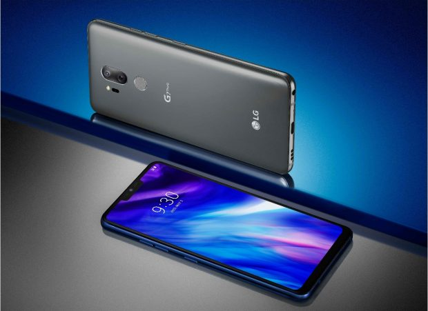 The LG G7 Thinq in New Platinum Gray Picture LG