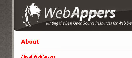 WebAppers is a blog created by Ray Cheung