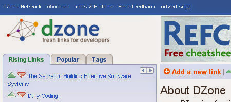 DZone is a social network for programmers