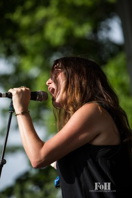 July, 24, 2016 - Oro-Medonte, Ontario, Canada: Vancouver blues band Black Mountain perform at Wayhome Music & Arts Festival
