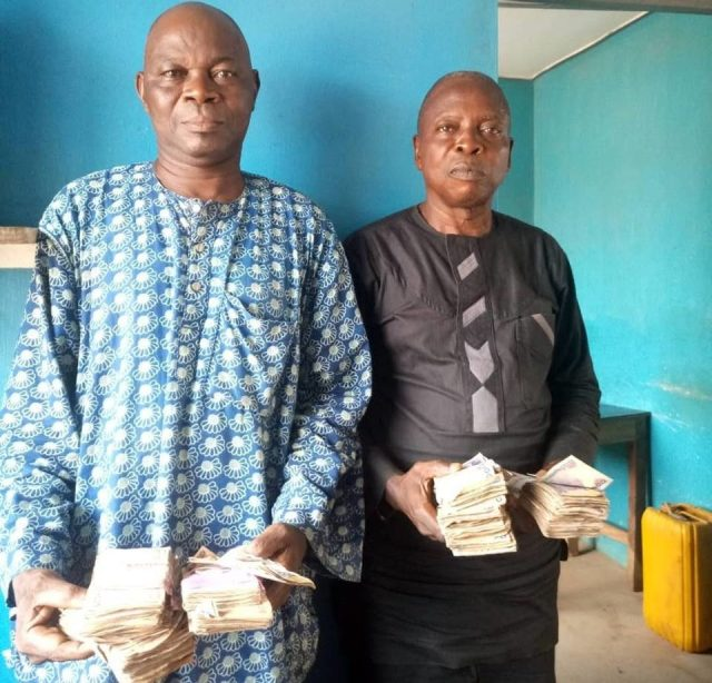 Two suspects in police net over vote buying in Osun guber election