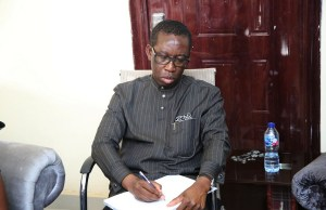 Slain Ngozi Ijei: What Okowa wrote in condolence register