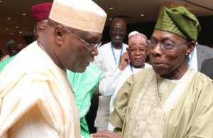 Atiku, Makinde visit Obasanjo in Abeokuta
