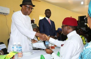 Okowa, Otuaro receive Certificate of Return