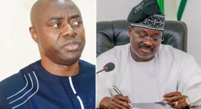 You can't stop me before my tenure expires, Ajimobi tells Makinde's spokesman