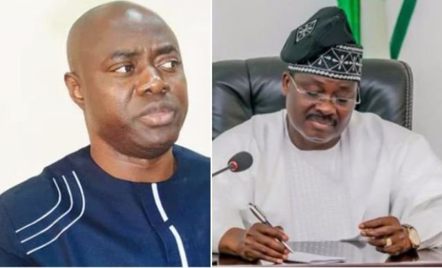 You can't stop me before my tenure expires, Ajimobi tells Makinde's spokesman