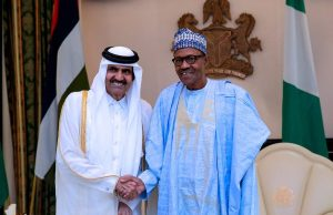 Come invest in Nigeria, Buhari tells Qatar as he hosts emir