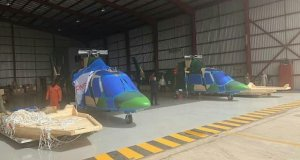 Boko Haram: NAF gets 2 new Agusta 109 attack helicopters