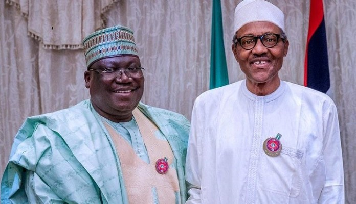 What Buhari and I discussed over insecurity, NDDC –Senate President