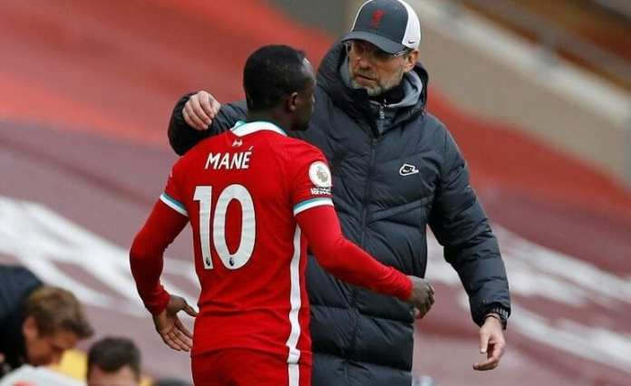 Klopp not worried about Mane relationship after Old Trafford snub