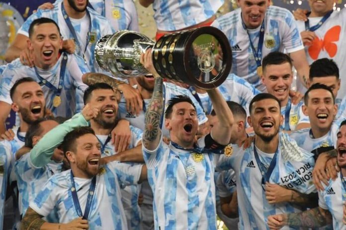 Argentina and Messi end long Copa America title drought