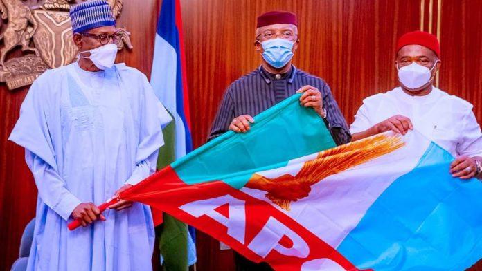Buhari welcomes Anambra Dep. Gov. Okeke to APC