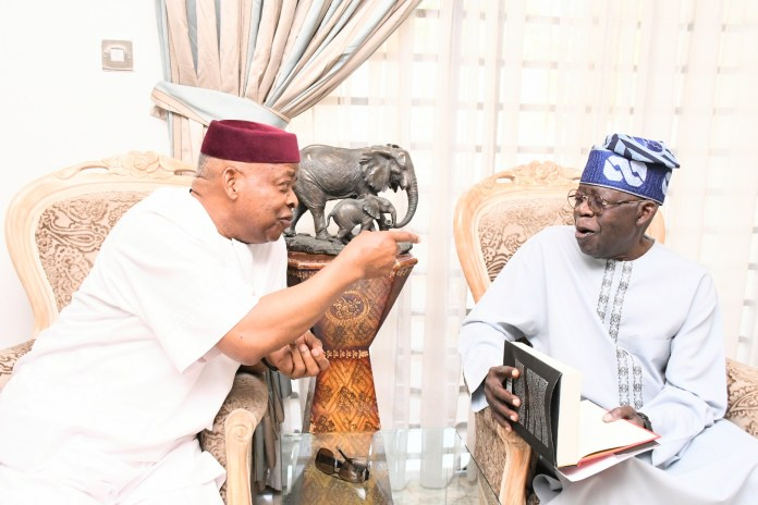 Nnamani to Tinubu: Your contributions to democracy stand you strong