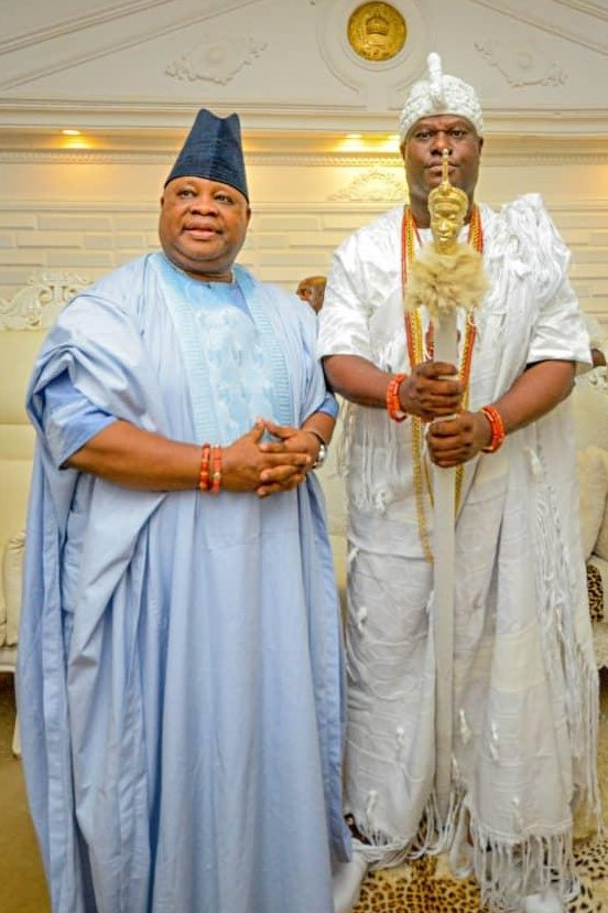 Osun: Ooni speaks on reports of promise of 'private jet gift' by Adeleke