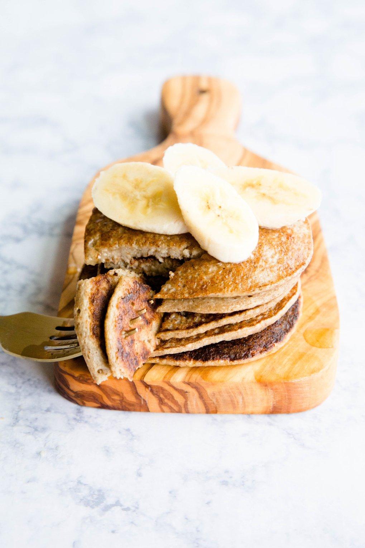 3 ingredient Gluten free pancakes