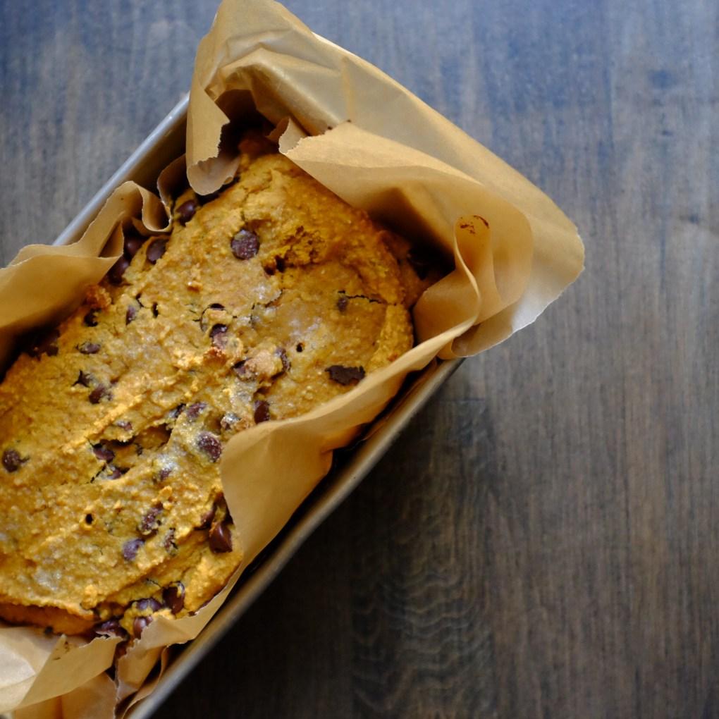 gluten-free & Dairy Free Pumpkin Bread