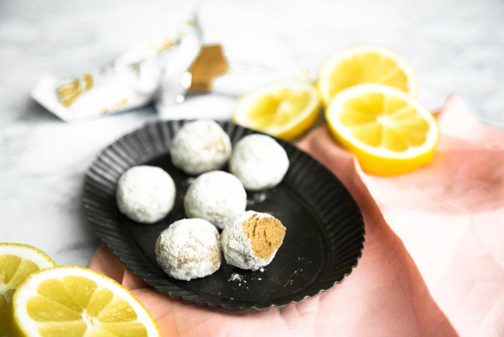 Lemon Meringue pie truffles