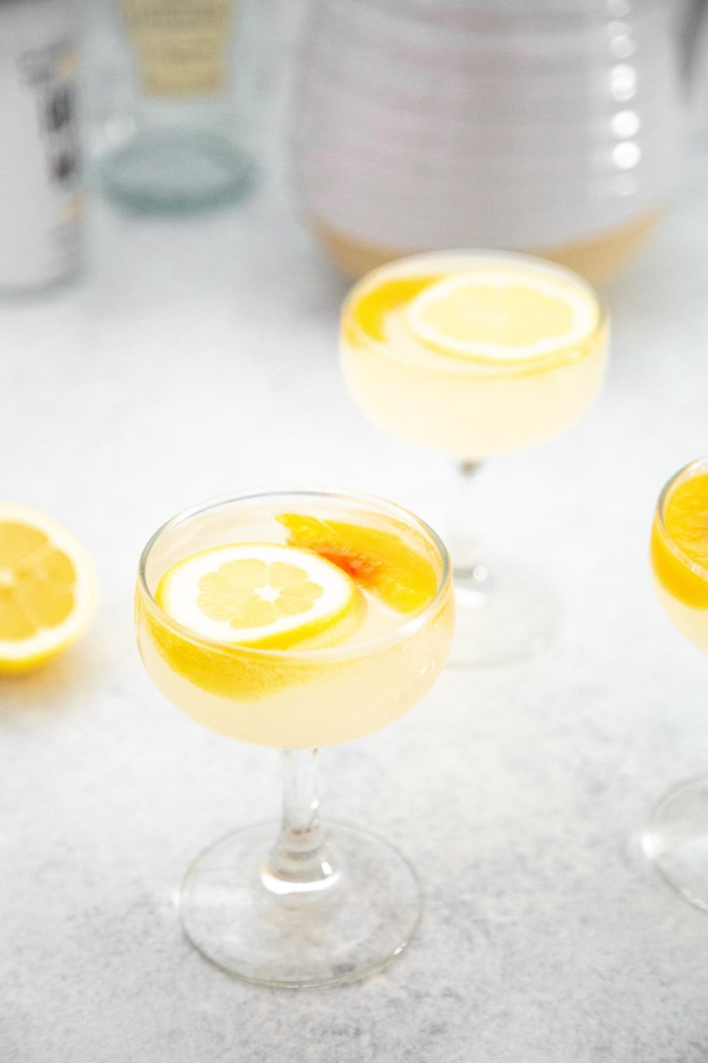 3 Ingredient Peach Sangria