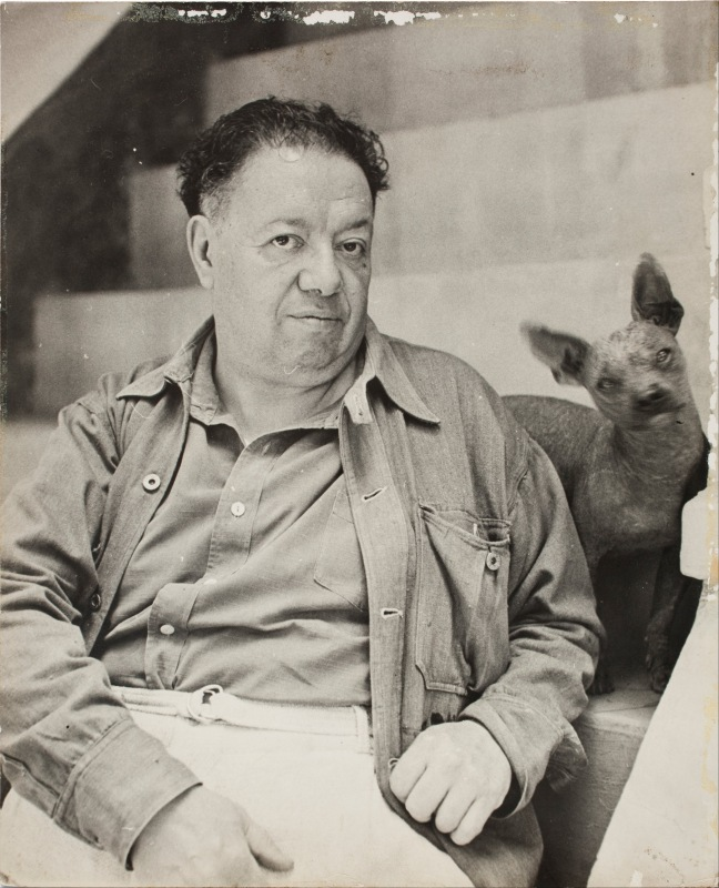 Diego Rivera. Image courtesy of MMoCA