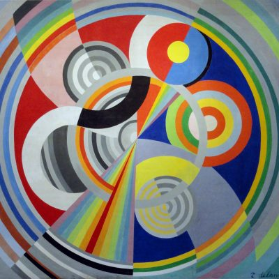 "Robert Delaunay, 1938, ""Rythme n°1,"" oil on canvas"