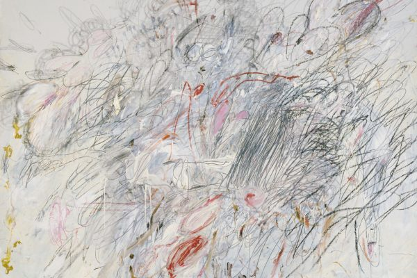 "Cy Twombly ""Leda and the Swan"" (1962)"