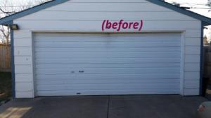 Old Garage door to be changed