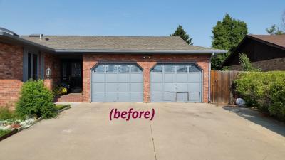 Old garage door to replaced
