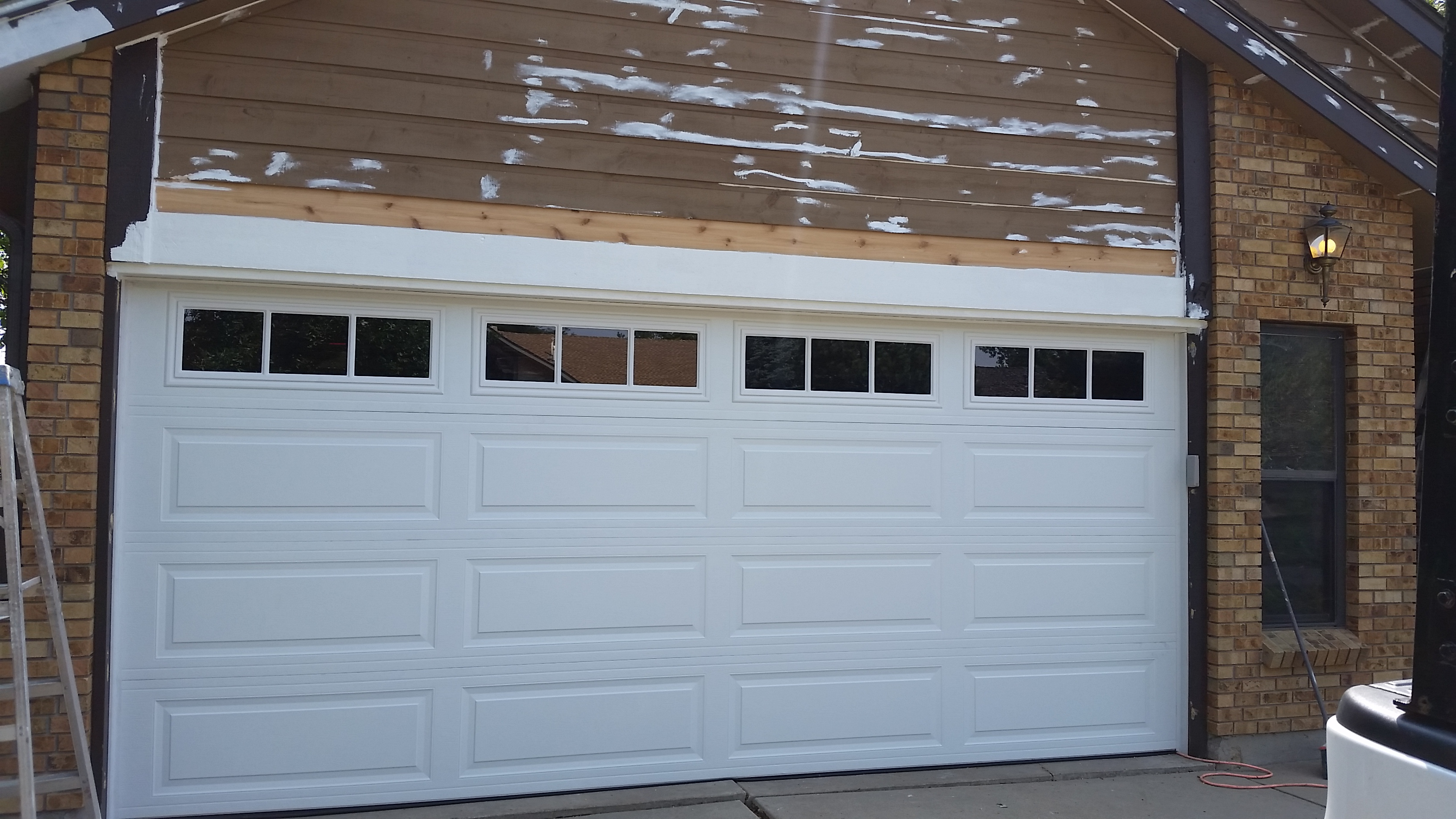 Lovely New Garage Door